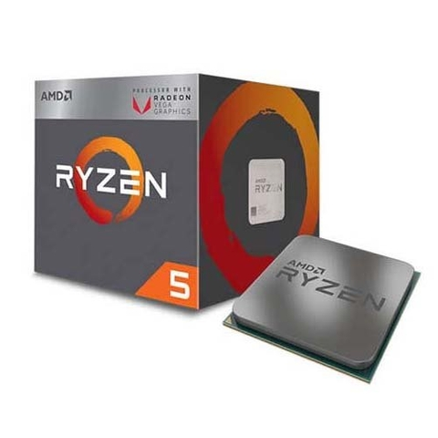 CPU AMD Ryzen 5 2400G -  3.9 GHz