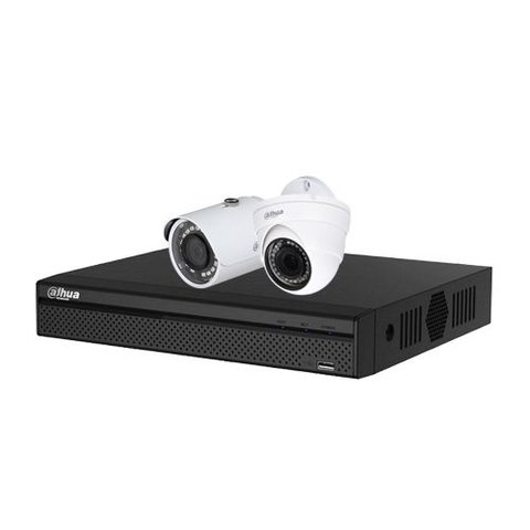 Trọn bộ Camera IP Dahua 2.0Mpx Full HD 1080P - 02 camera