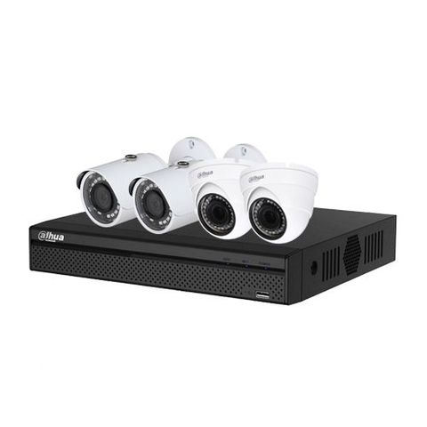Trọn bộ Camera IP Dahua 2.0Mpx Full HD 1080P - 04 camera
