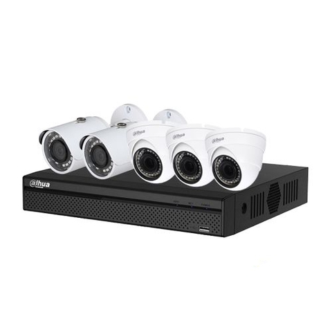 Trọn Bộ Camera Dahua 2.0Mpx Full HD 1080P - 05 Camera