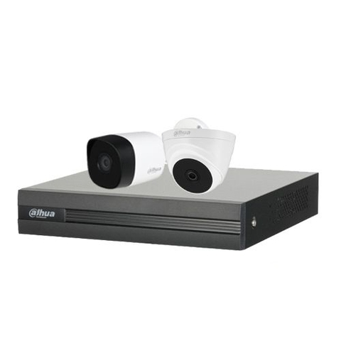 Trọn Bộ Camera Dahua 2.0Mpx HD 1080N - 02 Camera