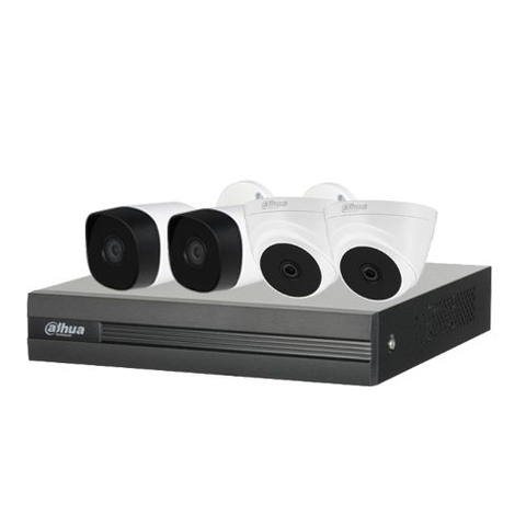 Trọn Bộ Camera Dahua 2.0Mpx HD 1080N - 04 Camera