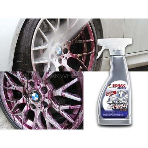 SONAX Vệ sinh mâm (Xtreme Wheel Cleaner Full Effect Acid-Free 230200)
