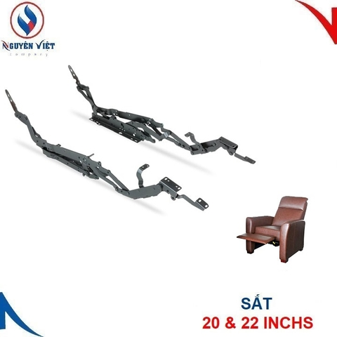 KHUNG SẮT SOFA RECLINER PUSH ON ARM RMT
