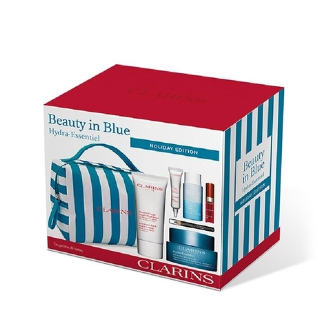 Set dưỡng ẩm Clarins Beauty in Blue