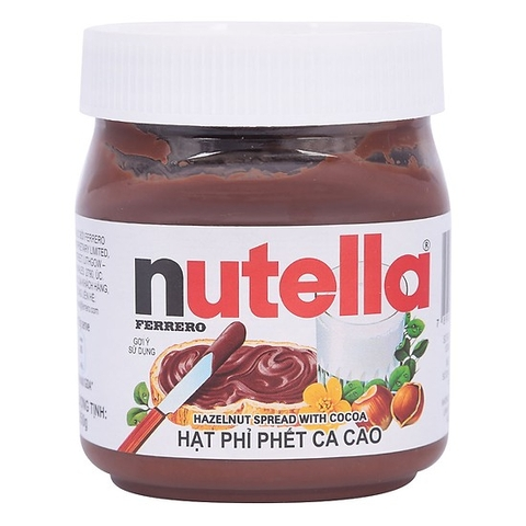 Nutella hạt phỉ phết cacao 350g