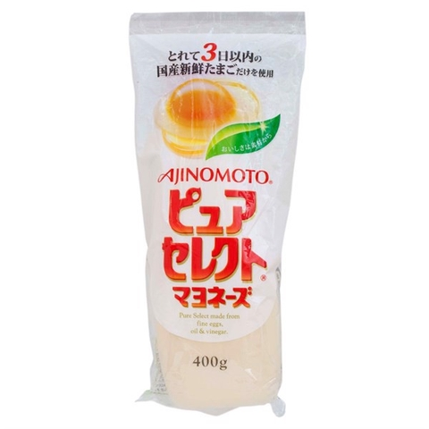 Xốt May-on-ne nguyên chất Ajinomoto Pure Select Mayonnaise 400g
