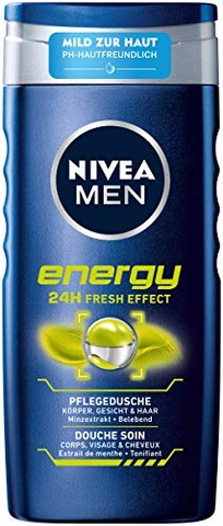 Sữa Tắm Nivea men Engery 24h, 250ml