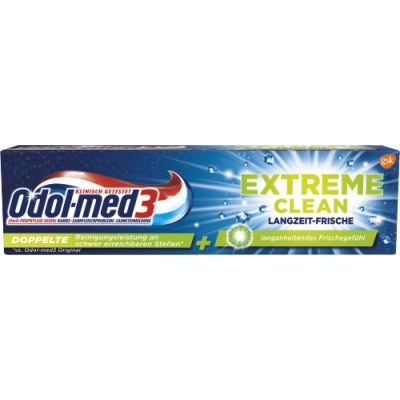 KĐR Odol-med3 Extreme Clean, 75ml