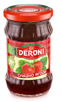 Mứt dâu Deroni Jams Strawberry 300g