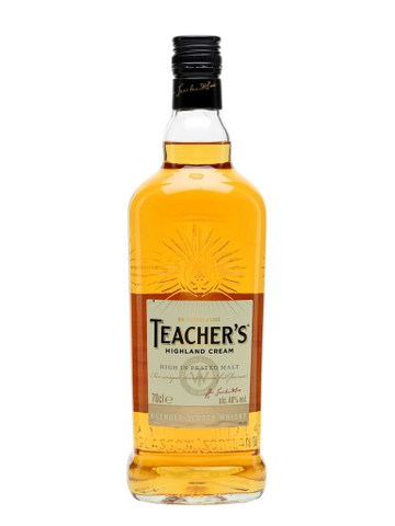Rượu Whiskey Teacher's Highland Cream 700ml