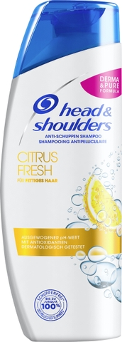 Dầu Gội Trị Gàu Head & Shoulders Citrus Fresh 300ml