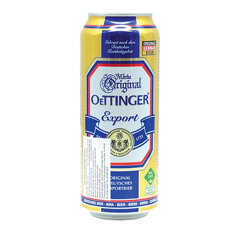 Bia Original Oettinger Export 5,4% 0.5L