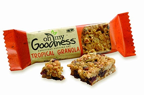 Oh My Goodness Tropical Granola 10%