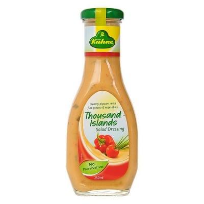 Xốt trộn salad Thousand Islands hiệu Kuehne 250ml