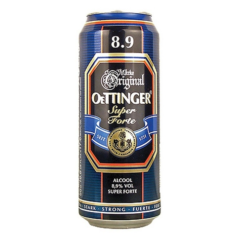 Bia Original Oettinger Superforte 8,9% 0.5L
