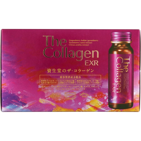 The Collagen Shiseido EXR nước, 10 ống