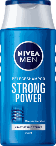 Dầu gội đầu Nivea Shampoo Strong Power 250 ml