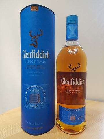 GLENFIDDICH SELECT CASK, 1 LIT ( 40°) IN GIFTBOX