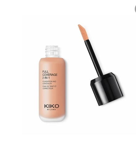 Kem nền Kiko Full Coverage 2in1 N40
