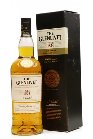 Rượu Whisky The Glenlivet Single malt 40%, 1L