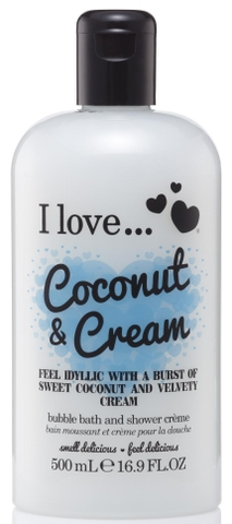 Sữa tắm I love Coconut & Cream 500ml