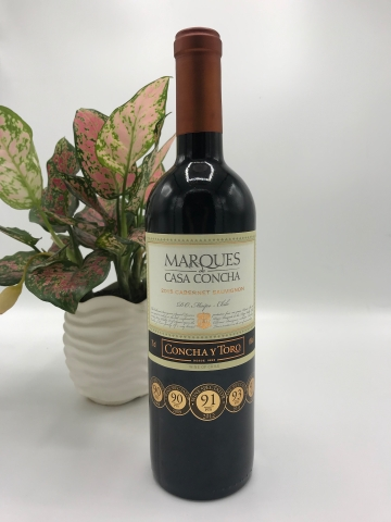 MARQUES CASA CONCHA CARBINET 14%, 750ml