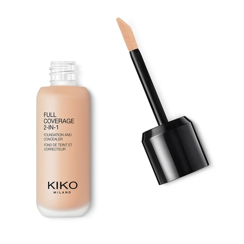 Kem nền Kiko Full Coverage 2in1 WR10