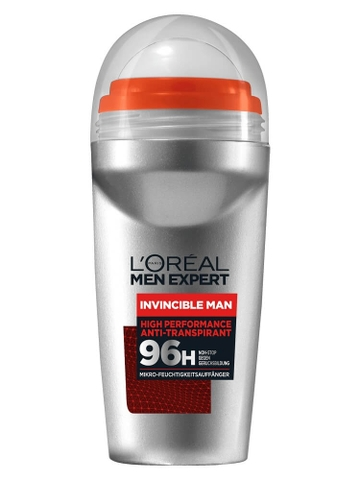 Lăn khử mùi Men Expert Invincible Man 96h, 50ml