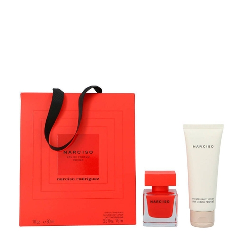 Set Lotion 75ml + Nước hoa Narciso Rouge Parfum 30ml
