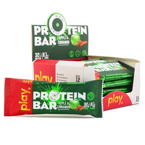 Play Protein Bar Apple Cinnimon 10%