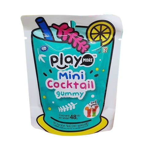 Kẹo dẻo Play More Mini Cocktail 48gr