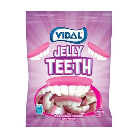 Kẹo Dẻo Vidal Jelly Teeth 25g