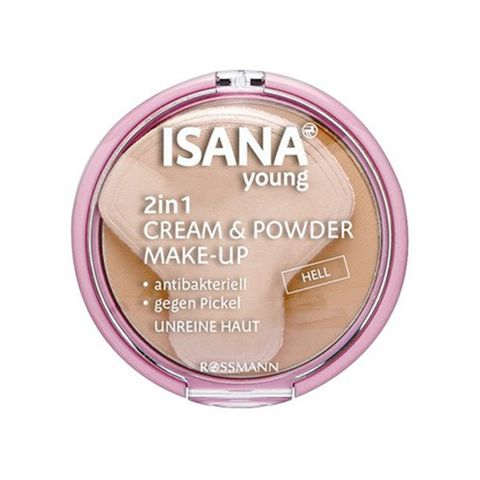 Phấn Phủ Che Khuyết Điểm Isana Young 2in1 Cream & Powder Make-Up Hell.