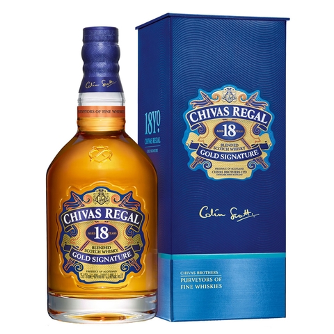 Rượu Chivas Regal 18 year old Whisky 700ml