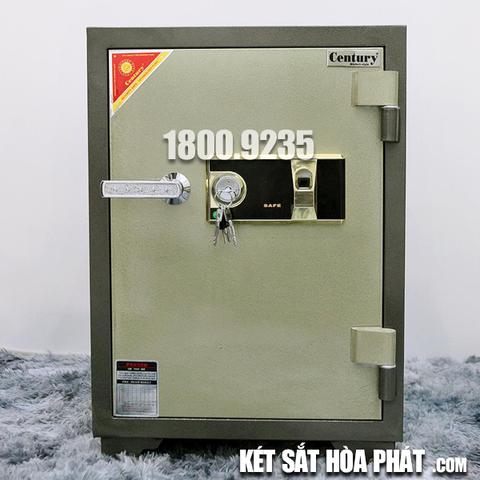 Két sắt chống cháy Century CF110 khóa vân tay