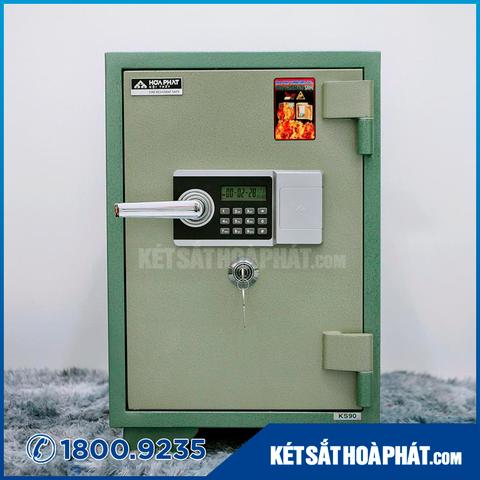 Két sắt Hòa Phát KS110 chống cháy mật mã điện tử