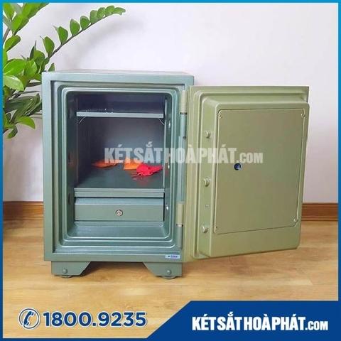 Két sắt Hòa Phát KS90K1C1 khóa cơ chống cháy