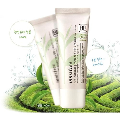 Kem nền Innisfree Eco Natural Tea BB Cream