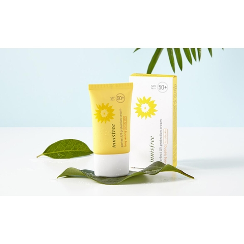 Kem chống nắng Innisfree Long lasting for oily skin 50+ da dầu