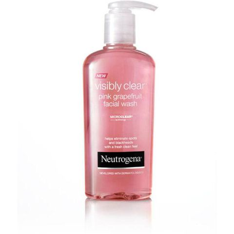 Sữa rửa mặt Visibly clear Pink Grapefruit Neutrogena 200ml
