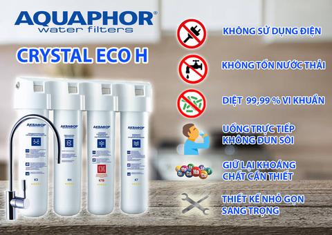Máy lọc nước Nano Aquaphor - Crystal ECO H