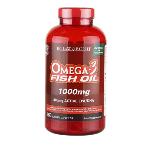 Omega-3 Holland Barrett lọ 350v