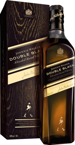 Blended whisky Johnnie Walker Double Black hàng nội địa UK 40 độ chai 700ml