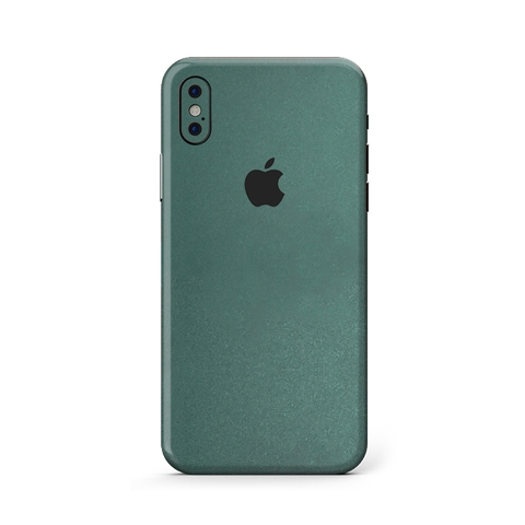 Skin Xanh Midnight IPhone X | XS| XS Max (M206)