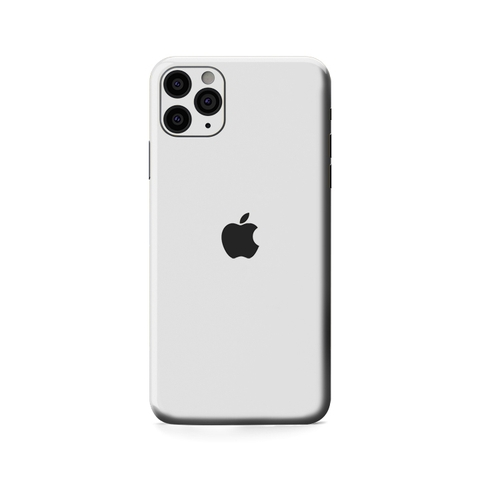Miếng Dán Skin Vinyl Trắng IPhone Pro | Pro Max (GLOSSY PEARL WHITE RG-121)
