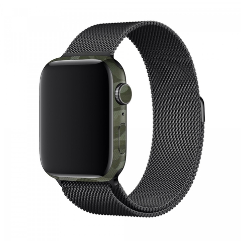 Dán Bảo Vệ Cho Apple Watch - Film 3M Green Camo