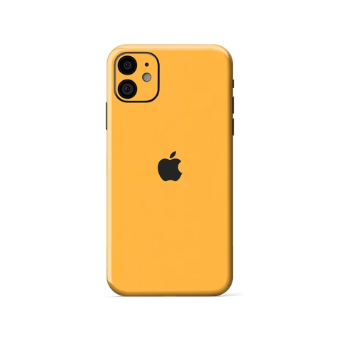 Dán Skin Vàng Bóng IPhone XR| IPhone 11 | METAL BUMBLEBEE - RG417