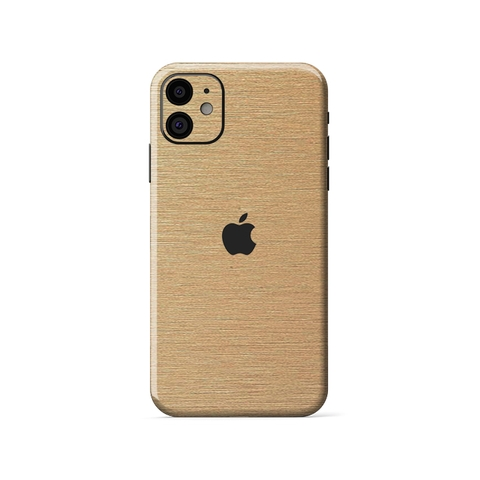 Miếng Dán IPhone Pro| IPhone Pro Max | Gold Xước SW-933
