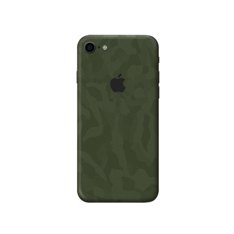 Skin 3M Camo Xanh IPhone 7Plus | 8Plus (SB26)
